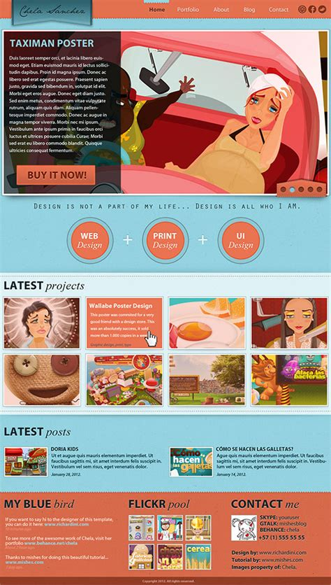 Gallery Graphic Designer Portfolio Website Templates Graphic Design Web Templates