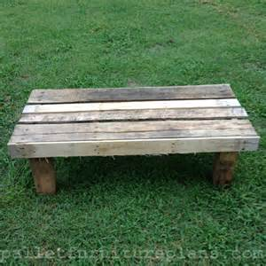 Pallet Benches 15 Diy Outdoor Pallet Bench