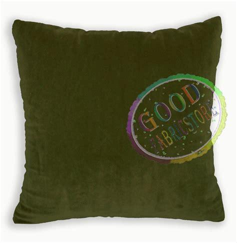 26x26 Pillow Cases by Mf40a Light Gold Olive Microfiber Velvet Cushion Cover