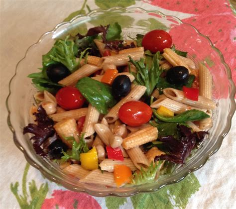 pasta salad vegetarian vegetable pasta salad