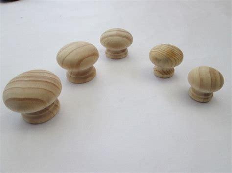 wooden kitchen cabinet knobs 10 x wooden round pine cupboard cabinet chest drawer