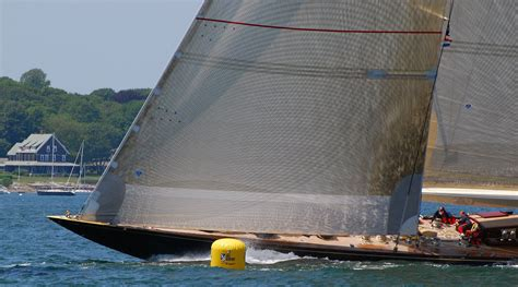 j boats racing in newport vintage america s cup j class yacht valsheda racing in