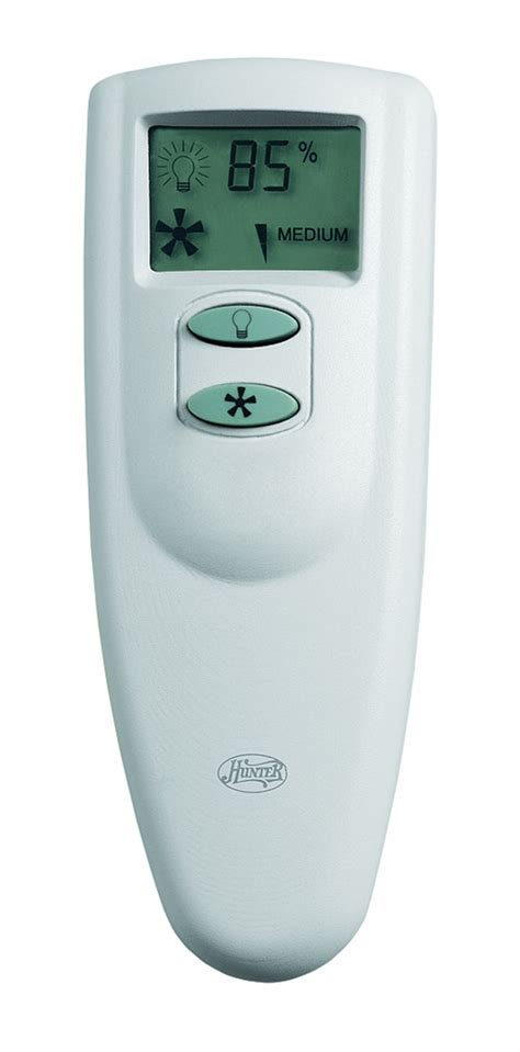 hunter fan company thermostat hunter fan remote control handset only