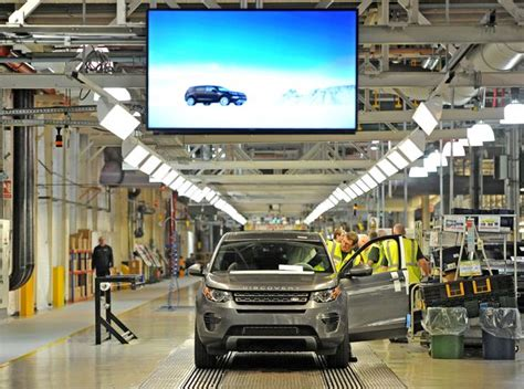 jaguar liverpool halewood look inside jaguar land rover s halewood factory where a