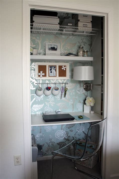 Home Office Closet Iheart Organizing September Featured Space Bedroom