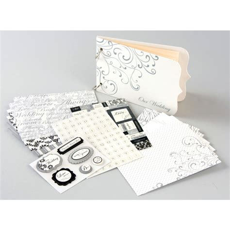 wedding scrapbook album kit i do wedding scrapbook album mini book kit scrapbook