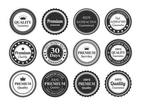 Retro 4 Money Premium High Quality vintage quality guarantee badges stock vector image
