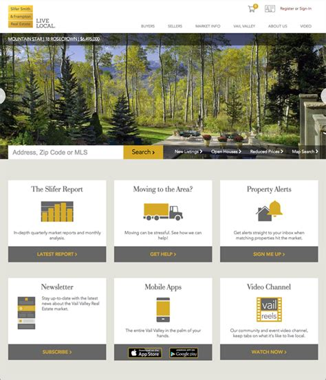 the best real estate website design 24 exles placester