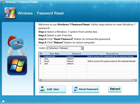 reset password window xp admin free reset local administrator password downloads