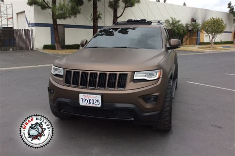 matte brown jeep matte brown jeep wrap wrap bullys