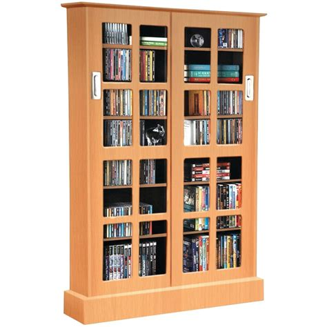 Media Storage Cabinet With Glass Doors Media Cabinet With Glass Doors In Media Storage Cabinets