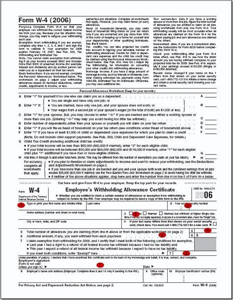 Printable W-4 Form | World of Printables W 4 Form 2015 Printable Spanish Irs