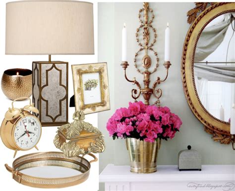 Brass Home Decor | 2013 home decor trends brass home accents 2013 styleable