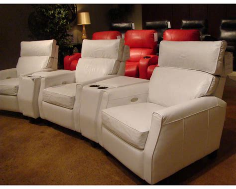 leather theater sofa theater leather recliner sam