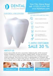 Dental Flyer Templates by Dental Clinic Free Flyer Template For Photoshop