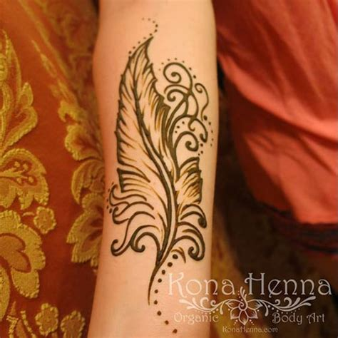 feather henna tattoo designs 19 beautiful feather henna designs you will to try