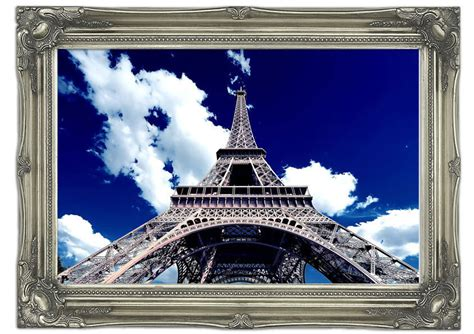 Wall Murals Eiffel Tower Eiffel Tower Bottom Up View Architecture Mural Printed