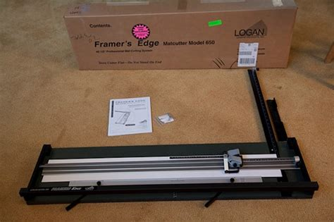 Mat Cutters For Sale by Logan Framers Edge 650 Mat Cutter Like New For Sale And