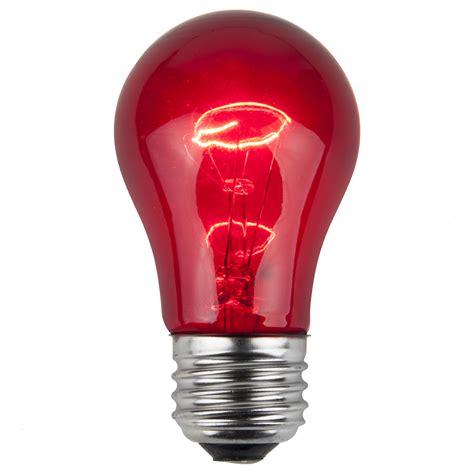 party  sign bulbs  transparent red  watt