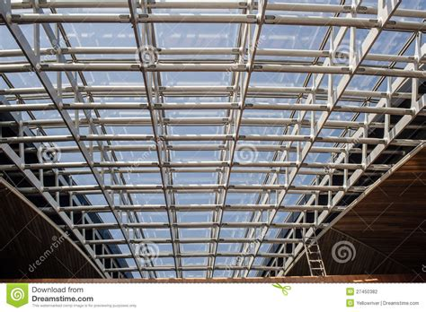 metal frame ceiling editorial photography image 27450382