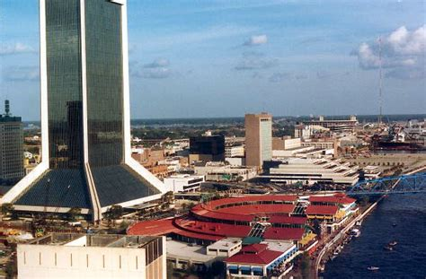 Records Jacksonville Fl Florida Memory Aerial View Of The Jacksonville S Downtown Jacksonville Florida