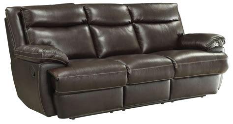 Macpherson Cocoa Bean Reclining Sofa From Coaster 601811 Cocoa Reclining Sofa