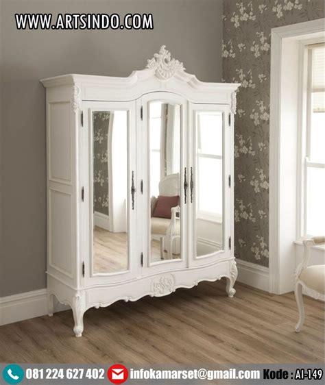 jual lemari pakaian anak lemari 3 pintu model klasik duco murah arts indo furniture jepara