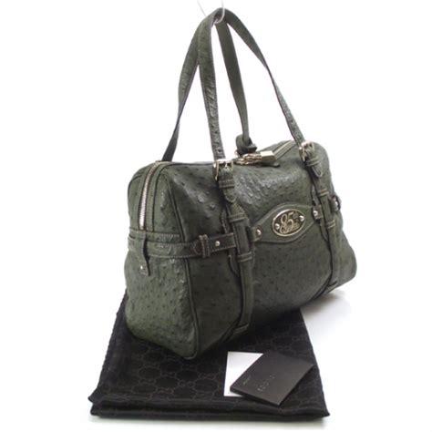Gucci 85th Anniversary Boston Bag by Gucci Ostrich 85th Anniversary Large Boston Bag 13752