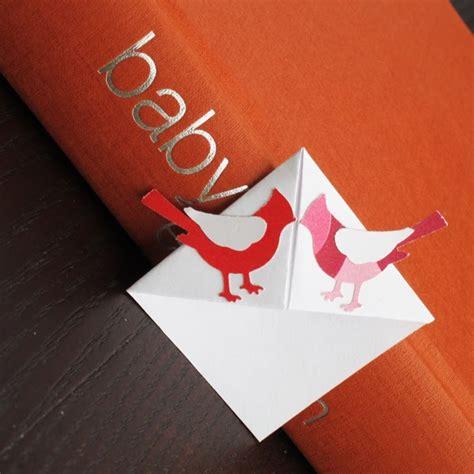 forty weeks crafts diy origami bookmark