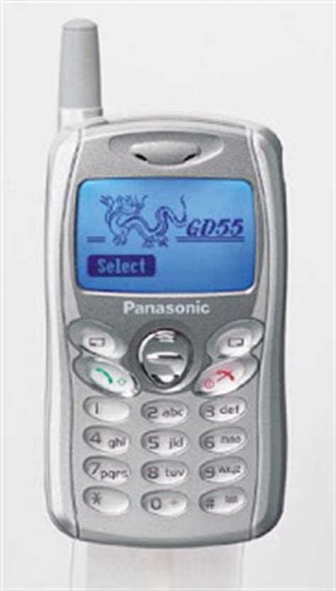 Handphone Panasonic About Handphone Panasonic Gd55 One Of The Smallest Gsm Phones In The World