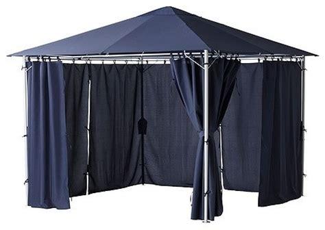 karlso gazebo karls 214 gazebo with curtains traditional curtains by ikea