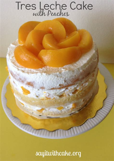 This Is A Cake by Layered Tres Leches Cake With Say It With Cake