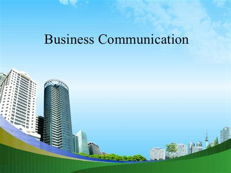 Business Mba Ppt by Business Communication Ppt Bec Doms Mba