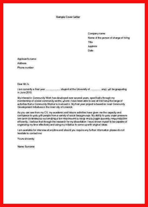 format of a cover letter for an internship cover letter for an internship image collections
