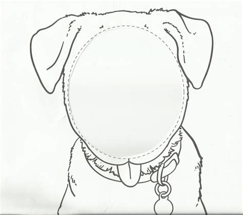 dog face template printable www imgkid com the image