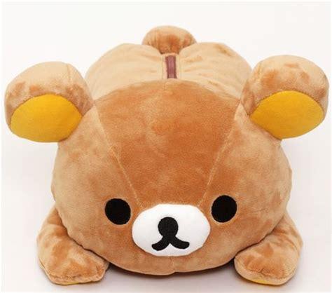 imagenes de osito kawaii gran peluche kawaii oso pardo rilakkuma tumbado boca abajo