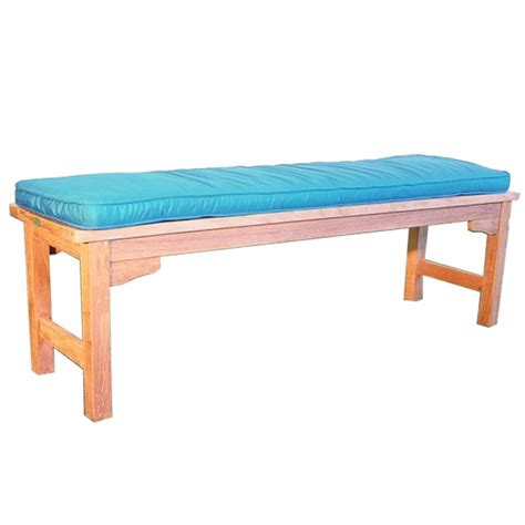 5 foot bench bar 5 ft backless bench cushion westminster teak outdoor
