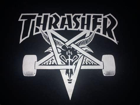 top thrasher logo font wallpapers