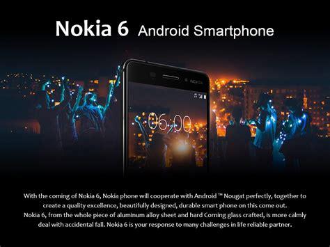 Nokia Android Ram 4gb nokia 6 5 5 inch 4gb 32gb smartphone silver