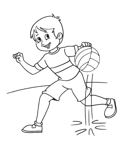 basketball practice coloring page 1 download free running with basketball coloring page download free