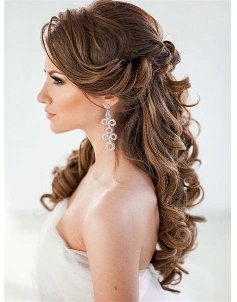 wedding hair and curled 45 best wedding hairstyles for hair 2018 hairstyles