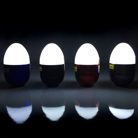 Tap Lights by The Pod Futuristic Egg Shaped Led Tap Light