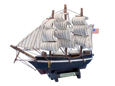 buy a boat india buy wooden star of india tall model ship 7 inch boat