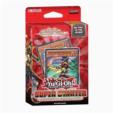 Card Tcg 1999 2 Player Starter Set Us Version yu gi oh space time showdown trading card starter deck ozgameshop