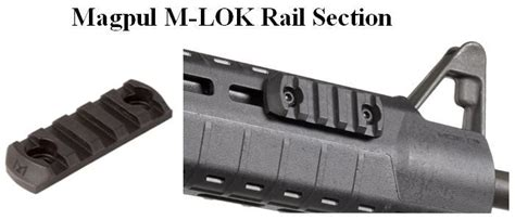 Magpul Rail Section by Magpul M Lok 5 Slot Rail Section Ml605