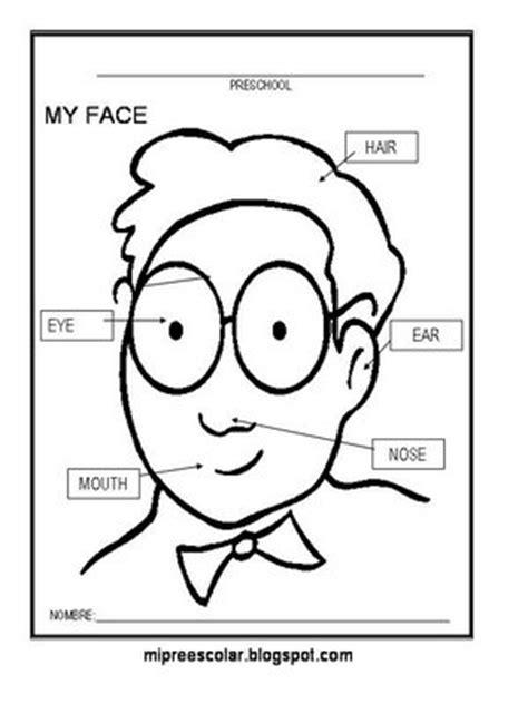 partes de la cara dibujo para colorear apoyo escolar ing maschwitzt contacto telef 011 15