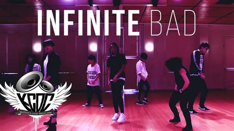 dance tutorial infinite bad infinite bad dance cover kcdc youtube