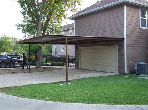 Attached Car Port by Alamo Heights Attached Carport Carport Patio Covers