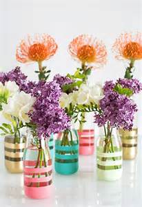 diy flower vase projects recycled things