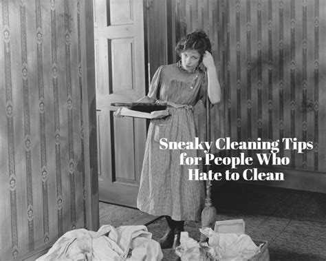 cleaning for lazy people the lazy person s guide to a happy home more sneaky